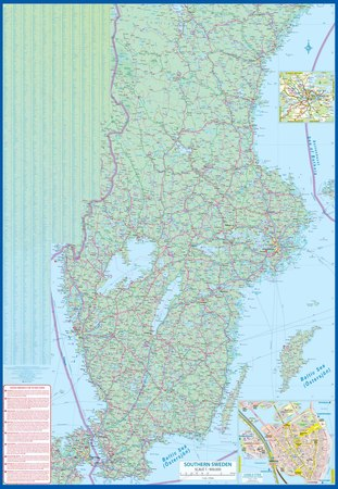 SZWECJA mapa 1:900 000 ITMB 2020 (2)
