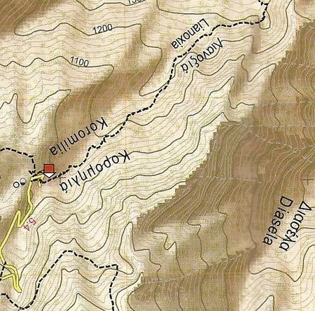 OLIMP mapa turystyczna 1:25 000 ANAVASI 2020 (4)
