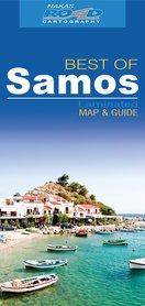 BEST OF SAMOS laminowana mapa turystyczna 1:80 000 Nakas Road Cartography