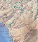 GÓRA ATHOS wodoodporna mapa turystyczna 1:50 000 TERRAIN (2)