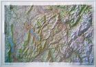 Annecy / Mont-Blanc mapa plastyczna ścienna 1:100 000 IGN (1)