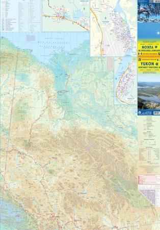 Yukon & Northwest Territories SW mapa ITMB (2)