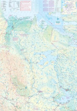Yukon & Northwest Territories SW mapa ITMB (3)