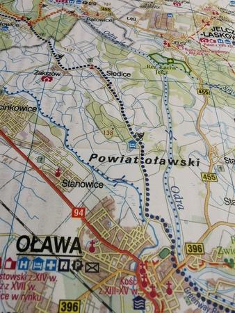 WROCŁAW I OKOLICE WSCHÓD mapa rowerowa 1:100 000 EUROPILOT 2021 (3)