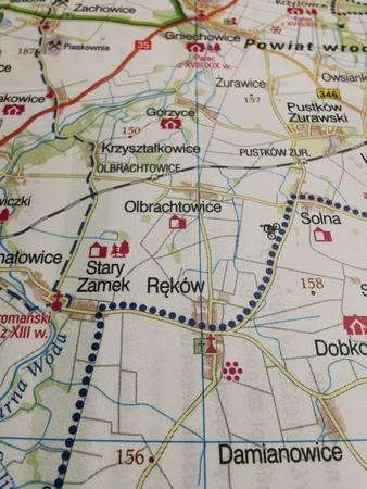WROCŁAW I OKOLICE ZACHÓD mapa rowerowa 1:100 000 EUROPILOT 2021 (2)