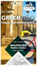 KRAKÓW I OKOLICE WSCHÓD mapa rowerowa 1:100 000 EUROPILOT 2021