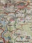KRAKÓW I OKOLICE ZACHÓD mapa rowerowa 1:100 000 EUROPILOT 2021 (3)