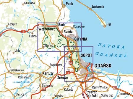 TRÓJMIEJSKI PARK KRAJOBRAZOWY mapa syntetyczna 1:25 000 STUDIO PLAN 2021 (2)