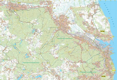 TRÓJMIEJSKI PARK KRAJOBRAZOWY mapa syntetyczna 1:25 000 STUDIO PLAN 2021 (3)