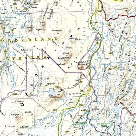 ISLANDIA mapa wodoodporna NATIONAL GEOGRAPHIC 2020 (2)