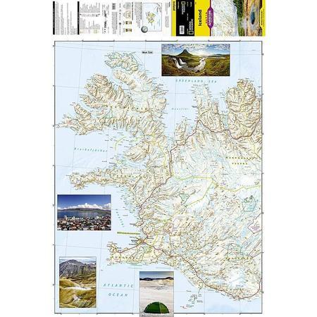 ISLANDIA mapa wodoodporna NATIONAL GEOGRAPHIC 2020 (3)