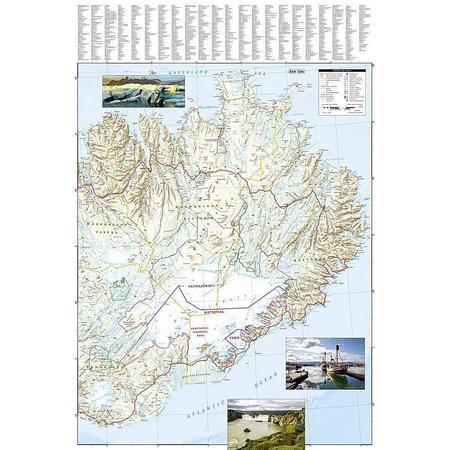ISLANDIA mapa wodoodporna NATIONAL GEOGRAPHIC 2020 (4)