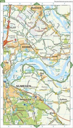 HOLANDIA atlas rowerowy 1:75 000 FALK 2021 (2)