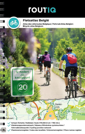BELGIA atlas rowerowy 1:75 000 FALK 2021 (1)