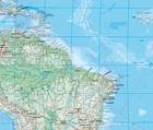 ŚWIAT FIZYCZNY mapa ścienna 140 x 82 cm KUMMERLY FREY 2020 (3)