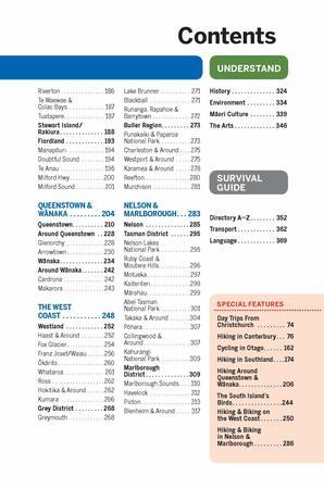 NOWA ZELANDIA WYSPA POŁUDNIOWA 7 przewodnik LONELY PLANET 2021 (3)