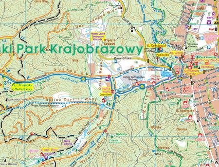 TRÓJMIEJSKI PARK KRAJOBRAZOWY mapa 1:25 000 STUDIO PLAN 2021 (5)