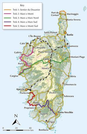 KORSYKA Corsica Short treks CICERONE 2021 (3)