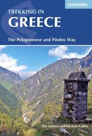 GRECJA Greece trekking / Peloponnese & Pindos way przewodnik CICERONE