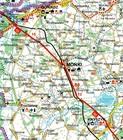 WOJEWÓDZTWO PODLASKIE mapa laminowana 1:250 000 TD 2021 (2)
