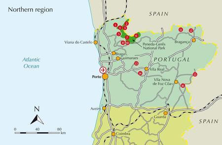 PORTUGALIA 4O SPACERÓW przewodnik CICERONE (5)
