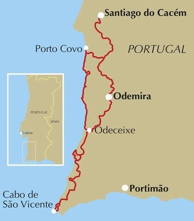 Rota Vicentina / Alentejo & Algarve CICERONE 2019 (2)