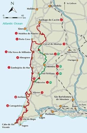 Rota Vicentina / Alentejo & Algarve CICERONE 2019 (3)