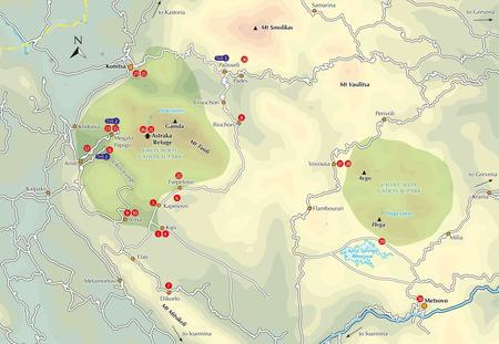 ZAGORI Walking and Trekking przewodnik CICERONE (2)