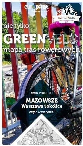 WARSZAWA I OKOLICE WSCHÓD mapa rowerowa 1:100 000 EUROPILOT 2021