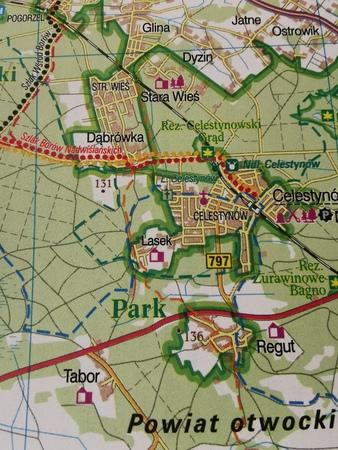 WARSZAWA I OKOLICE WSCHÓD mapa rowerowa 1:100 000 EUROPILOT 2021 (3)