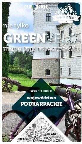 PODKARPACKIE GREEN VELO mapa rowerowa 1:100 000 EUROPILOT 2021