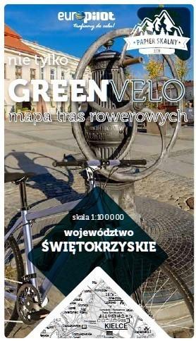 ŚWIĘTOKRZYSKIE GREEN VELO mapa rowerowa 1:100 000 EUROPILOT 2021