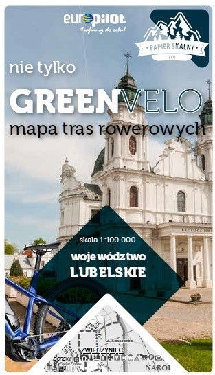 LUBELSKIE GREEN VELO mapa rowerowa 1:100 000 EUROPILOT 2021 (1)