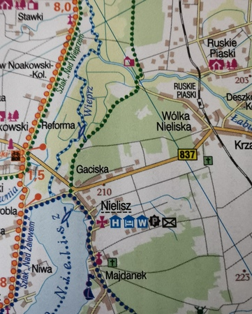 LUBELSKIE GREEN VELO mapa rowerowa 1:100 000 EUROPILOT 2021 (2)