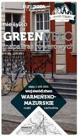 WARMIŃSKO-MAZURSKIE ZACHÓD mapa rowerowa 1:100 000 EUROPILOT 2021