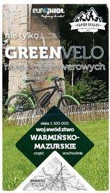 WARMIŃSKO-MAZURSKIE WSCHÓD mapa rowerowa 1:100 000 EUROPILOT 2021