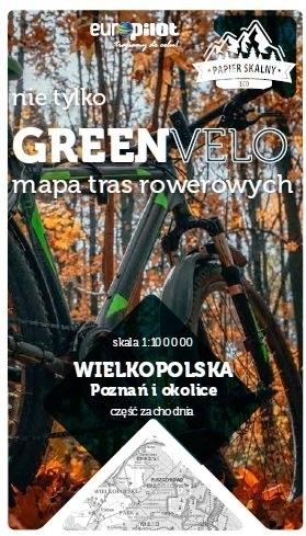 POZNAŃ I OKOLICE ZACHÓD mapa rowerowa 1:100 000 EUROPILOT 2021 (1)