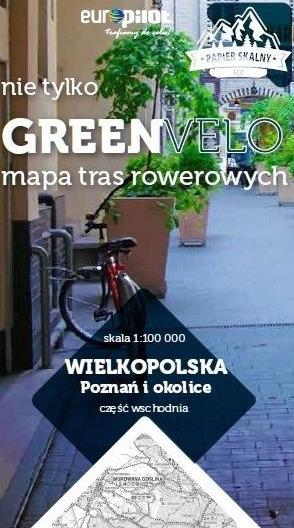 POZNAŃ I OKOLICE WSCHÓD mapa rowerowa 1:100 000 EUROPILOT 2021 (1)