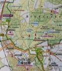 POZNAŃ I OKOLICE WSCHÓD mapa rowerowa 1:100 000 EUROPILOT 2021 (3)