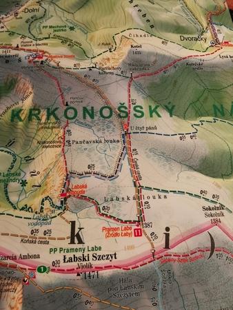 KARKONOSZE mapa panoramiczna 1:33 000 EXPRESSMAP 2021 (2)