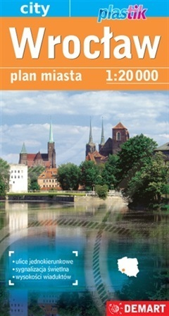 WROCŁAW plan miasta laminowany 1:20 000 DEMART 2021 (1)