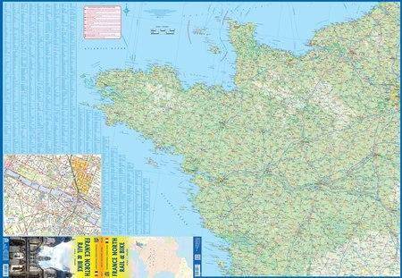 FRANCJA PÓŁNOCNA mapa 1:700 000 ITMB 2021 (3)