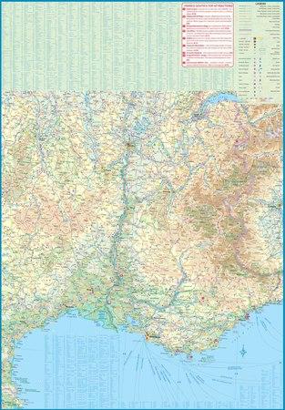 FRANCJA POŁUDNIOWA mapa 1:600 000 ITMB 2020 (2)
