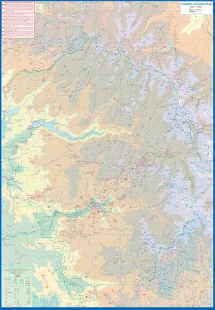 YOSEMITE I ŚRODKOWA KALIFORNIA mapa ITMB 2021 (3)