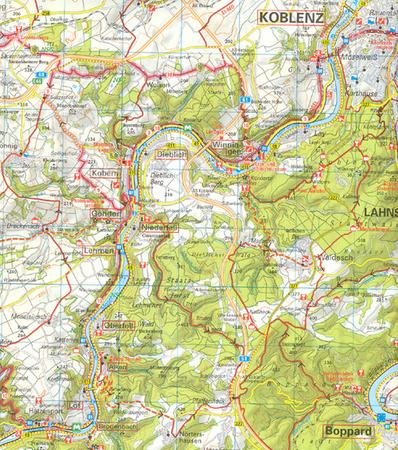 NORYMBERGA I GÓRNY PALATYNAT mapa rowerowa 1:75 000 ADFC 2021 (5)