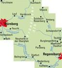 NORYMBERGA I GÓRNY PALATYNAT mapa rowerowa 1:75 000 ADFC 2021 (2)