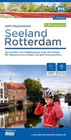 SEELAND / ROTTERDAM mapa rowerowa 1:75 000 ADFC 2021