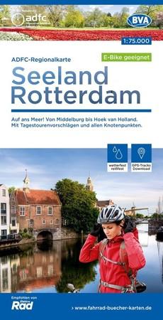SEELAND / ROTTERDAM mapa rowerowa 1:75 000 ADFC 2021 (1)