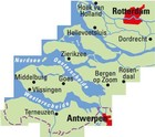 SEELAND / ROTTERDAM mapa rowerowa 1:75 000 ADFC 2021 (2)