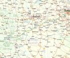 BURKINA FASO / AFRYKA ZACHODNIA mapa ITMB 2021 (2)